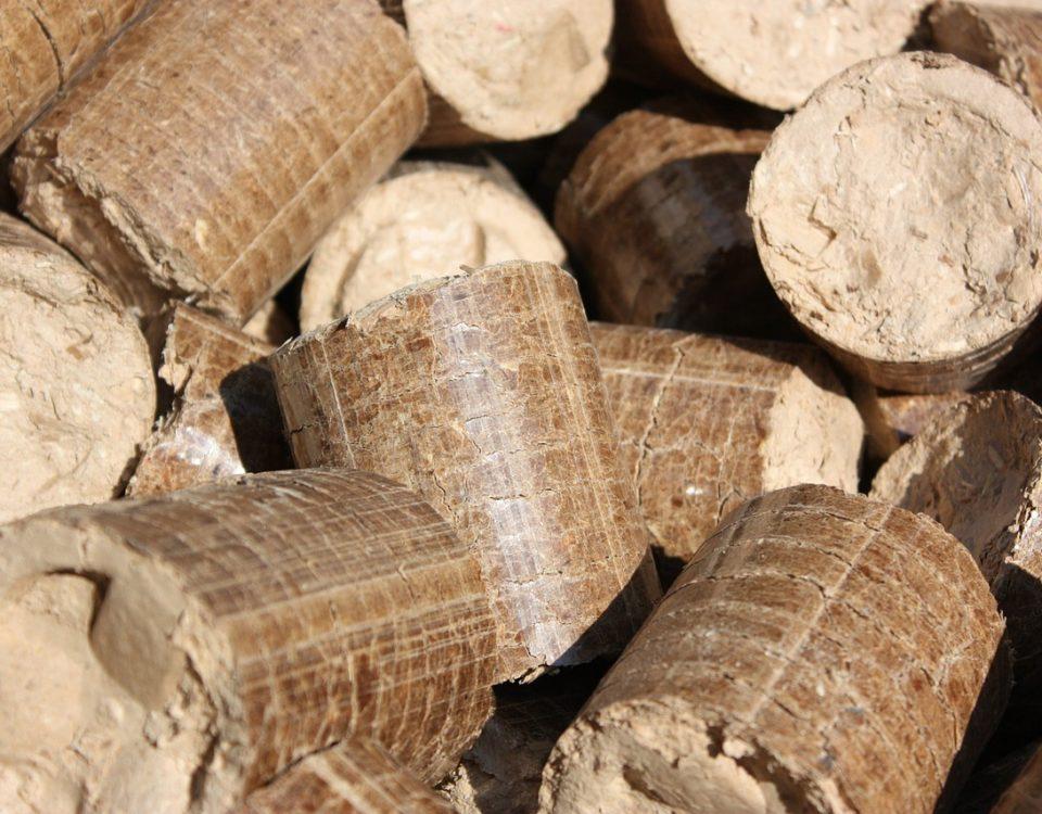 tronchi, legno, pellet
